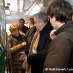 Visite d'une délégation de Centre Ville en Mouvement